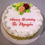 Hướng dẫn in tên lên bánh sinh nhật tặng bạn bè