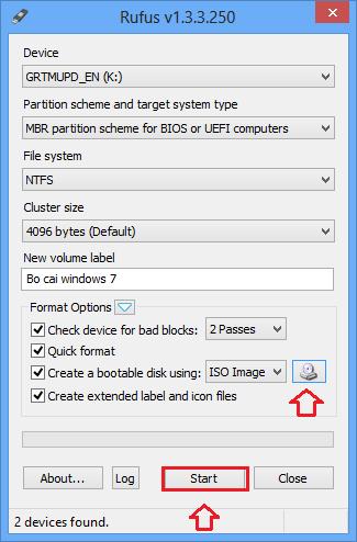 Tạo bộ cài Windows nhanh chóng từ USB