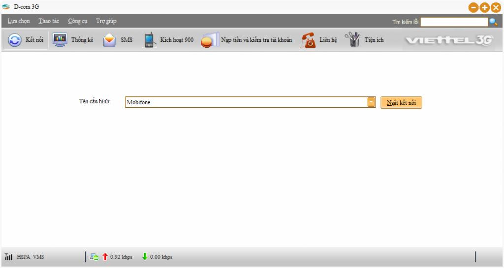Unlock Dcom 3g Viettel dùng tất cả các mạng