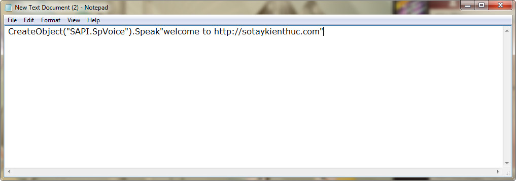 Xem giới tính Windows của bạn