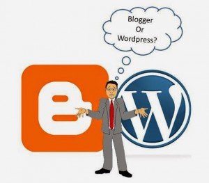 so sánh blogger vs wordpress