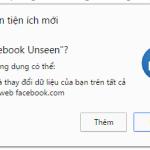 Cách loại bỏ chữ đã xem tin nhắn trong Facebook