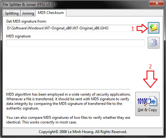 Hướng dẫn check MD5 của tất cả các file bằng FFSJ (1)
