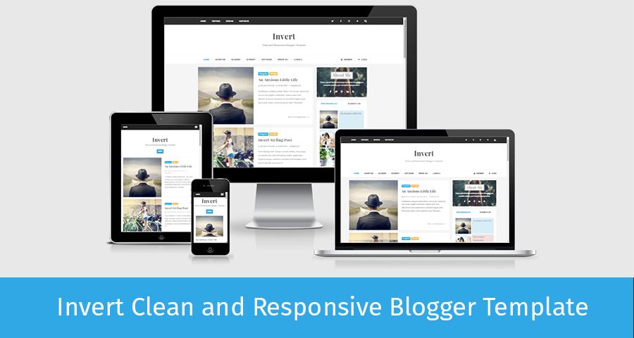 Invert bloggers - Template cá nhân Responsive đẹp
