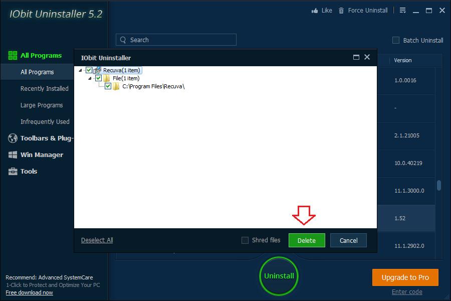 Hướng dẫn gỡ bỏ phần mềm triệt để với IObit Uninstaller (4)
