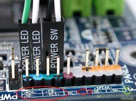 Cách cắm dây Power SW, Reset SW, HDD Led. Power led +/- trên main