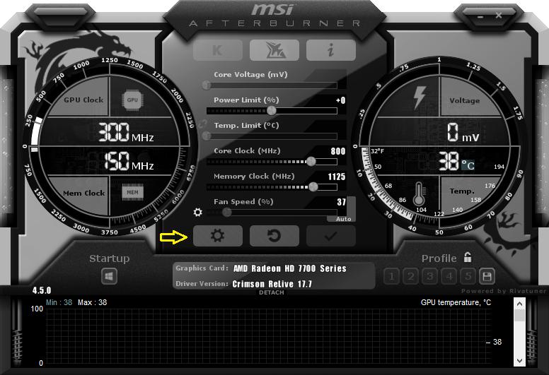 Hướng dẫn hiển thị FPS trong mọi game với MSI AfterBurner