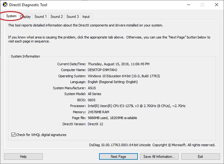 Kiểm tra cấu hình máy tính đơn giản nhất ngay trong Windows