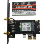 Card Wifi cho máy tính bàn Intel AC 3165 7260 8260 9260