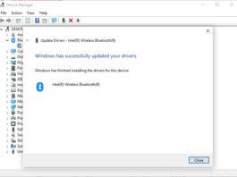 Xử lí tình trạng không nhận Bluetooth sau khi lắp card WIFI