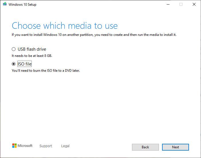 Cách tải bộ cài Windows 10 chính thức từ Microsoft