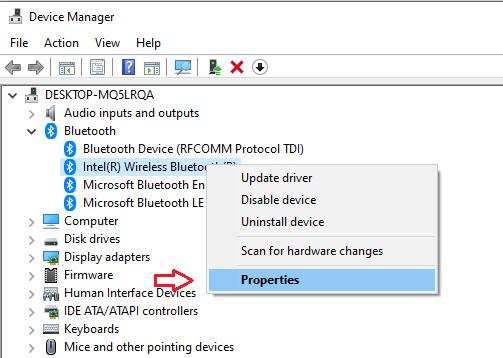 Cách kiểm tra phiên bản Bluetooth đang dùng trên máy tính